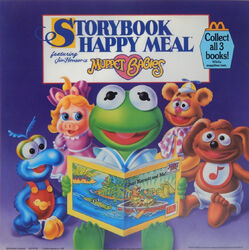 Muppet Babies Happy Meal 1988 ad