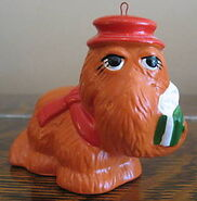 Newcor carolers christmas ornament snuffy