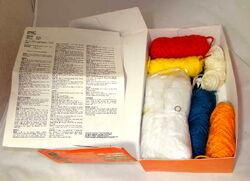 Vogart crochet kit ernie 1979b