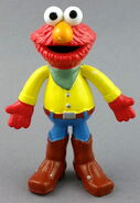 Applause 1992 elmo pvc bendable figure