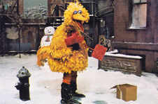 Big Bird shovel snow SSmag Feb76