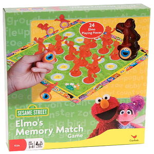 Cardinal elmo's memory match