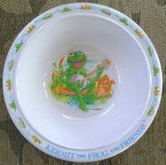 Eden melamine dishes set kermit 3