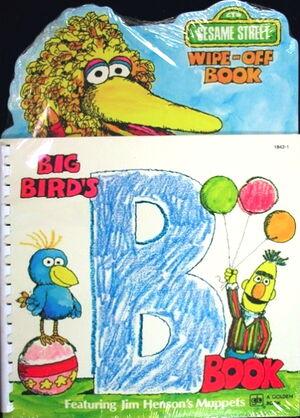 Golden big bird's b book