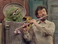 James Galway and Oscar