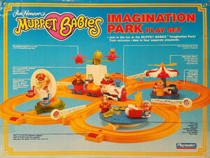 Muppet Babies Imagination Park box back