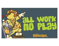 Poster Fraggle Rock-All Work No Play