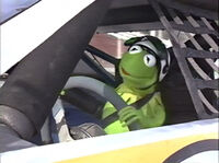 Muppets On Wheels Race Car Rock