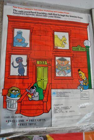 SesameStreetBookClubAd