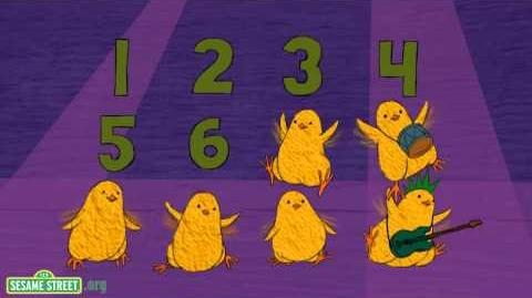 Sesame Street 12 Little Chicks Song