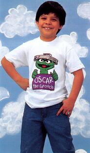 Sesame catalog shirt oscar the grouch