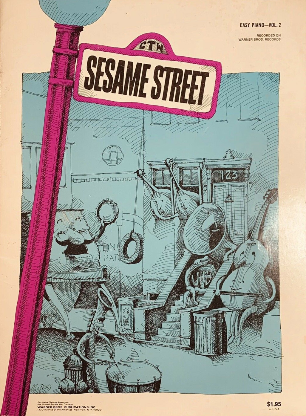 Sesame easy piano sheet music 2