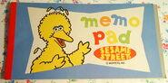 Sony creative products big bird memo pad