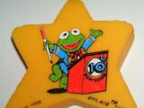 Muppet erasers (Applause)