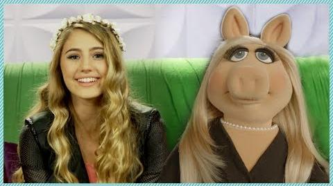 AwesomenessTV Miss Piggy interview