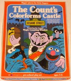 Colorforms 1977 count's castle