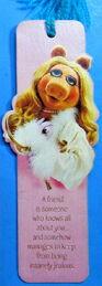Hallmark 1980 bookmark miss piggy