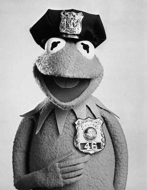 Kermit cop