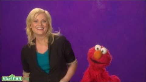 Sesame Street Amy Poehler-Yoga