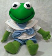 Direct connect 1989 baby kermit plush 1