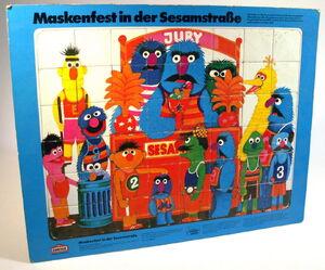 Gruner & jahr 1973 Sesamstrasse Kombi Puzzle 2