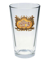 Muppet Show pint glass TMS logo