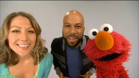"Sesame Street Common and Colbie Caillat - ""Belly Breathe"" with Elmo"