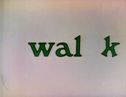 Walk-Lowercase