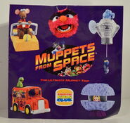 Burger king europe muppets from space mfs premiums 1