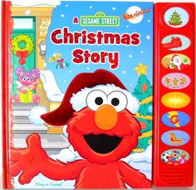 Casey sanborn sesame street christmas story play-a-sound
