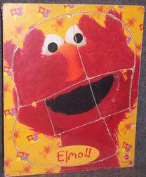 Elmo puzzle mattel