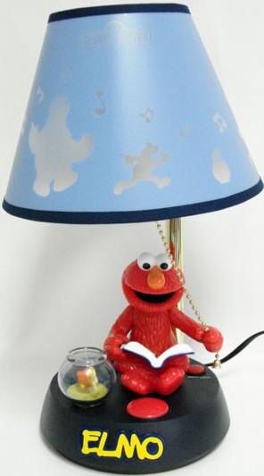 Elmo talking lamp