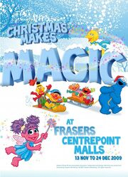 Sesame Street Christmas Makes Magic