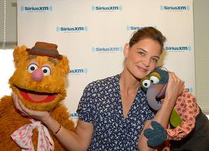 SiriusXM-KatieHolmes-Fozzie&Gonzo-(2014)