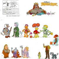 Animated fraggle cast