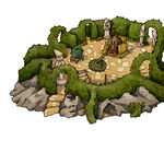 Labyrinth board game illustration 21