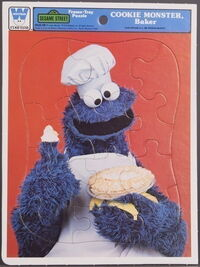 Whitman frame-tray puzzle cookie baker