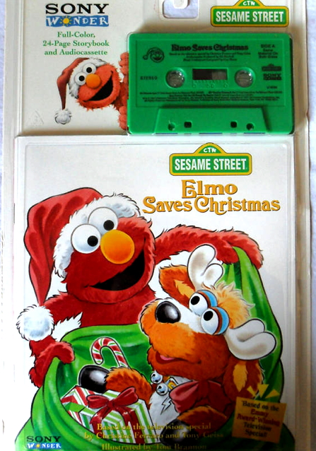 Elmo Saves Christmas Book And Tape Muppet Wiki