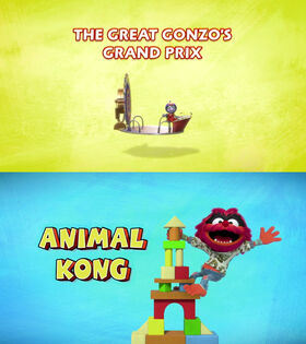 Gonzo Grand Prix - Animal Kong