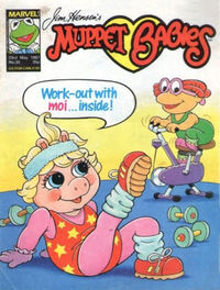 Muppet babies weekly uk 23 may 1987