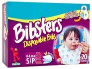 Pampersbibstersdisposablebibs
