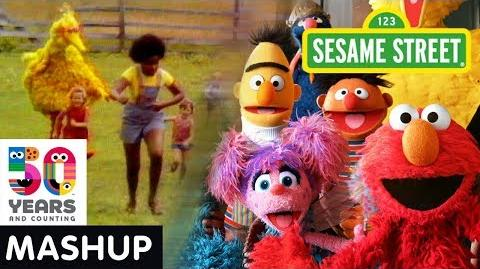 Sesame Street Sunny Days Show Open Through the Years