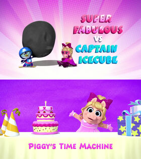 Super Fabulous vs Captain Icecube - Piggy's Time Machine