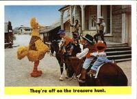 1992 sesame trading cards 61