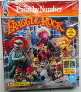 Hasbro fraggle rock paint by number 1985 1