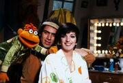 Liza Minnelli and Richard Hunt