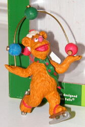 Midwest fozzie juggling ornament
