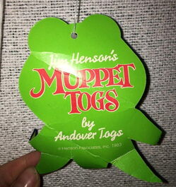 Muppet togs 1983 exercise shirt 4
