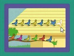 Pigeonpattern Yellowandblue