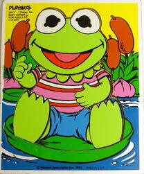 Playskool1983BabyKermit7pcs